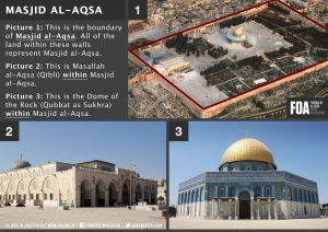A comprehensive and authentic understanding of what constitutes Masjid al Aqsa
